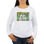 Irises-Westies 3and11 Women's Long Sleeve T-Shirt