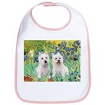 Irises-Westies 3and11 Bib