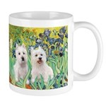 Irises-Westies 3and11 Mug