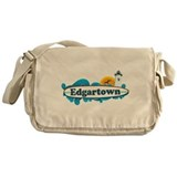 Edgartown MA - Surf Design. Messenger Bag