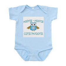 Hootie Hootie Cutie Patootie Infant Bodysuit