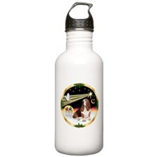 XmasDove/Basset Hound Water Bottle
