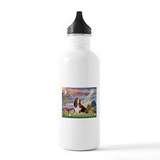 Cloud Angel & Basset Water Bottle