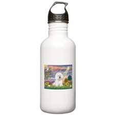 Cloud Angel & Bichon Water Bottle