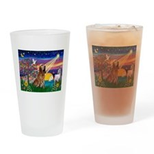 Magical Night Bloodhound Drinking Glass