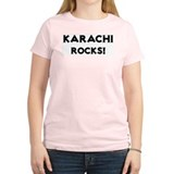 Karachi Rocks! Women's Pink T-Shirt