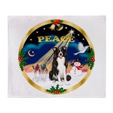 XmasSunrise/Border Collie Throw Blanket