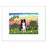 Bright Country/Border Collie Small Poster