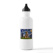 Starry Night/Border T Water Bottle