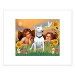 Cherubs / Bull Terrier Small Poster