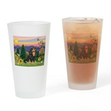 Sunset / Cavalier (BT) Drinking Glass