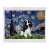 Starry Night Cavalier Throw Blanket