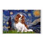 Starry Night Blenheim Sticker (Rectangle)