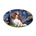 Starry Night Blenheim 22x14 Oval Wall Peel