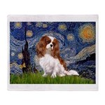 Starry Night Blenheim Throw Blanket