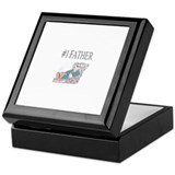 Number one father Keepsake Box