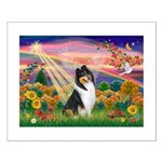 Autumn Angel/Collie Small Poster