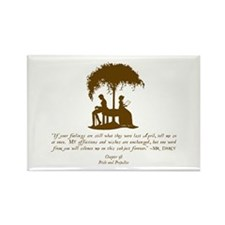 Jane Austen Gift Rectangle Magnet