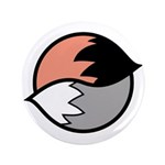 "Tails 3.5"" Button (100 pack)"