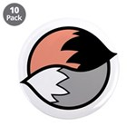 "Tails 3.5"" Button (10 pack)"