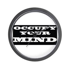 Occupy Mind Wall Clock