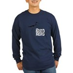 Bird Nerd (Stilt) Long Sleeve Dark T-Shirt