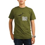 Bird Nerd (Stilt) Organic Men's T-Shirt (dark)