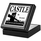 Castle Bridge Toss Keepsake Box