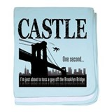 Castle Bridge Toss baby blanket