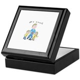 Number one dad Keepsake Box