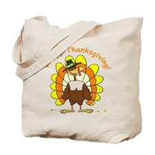 Candy Corn Turkey Tote Bag