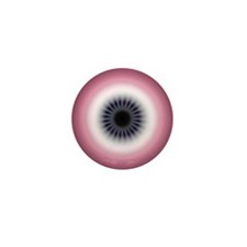 Sunrise Plum Deco Evil Eye Mini Button (10 pack)