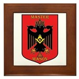 Masonic 33rd Degree Framed Tile