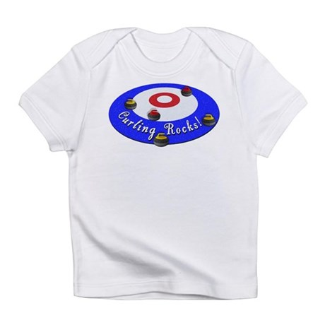 Curling Rocks! Infant T-Shirt