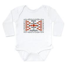 Doctorate of Bracketology Long Sleeve Infant Bodys