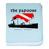 The Papoose baby blanket