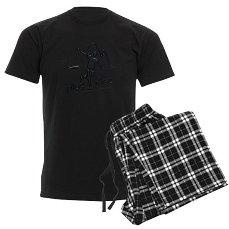 Disc Launch Green Men's Dark Pajamas