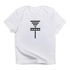 Disc Basket Smooth Black Infant T-Shirt
