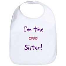I'm the Little Sister! Bib