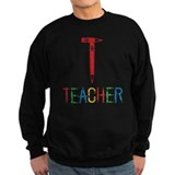 Pencils Teacher Sweatshirt