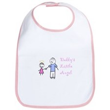 Cute Daddy's angel Bib