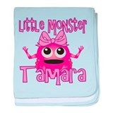 Little Monster Tamara baby blanket