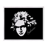 Beethoven Music Throw Blanket Gift