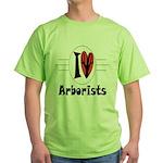 Arborist Green T-Shirt