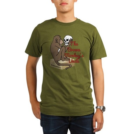 BrownMonkey's Uncle Organic Men's T-Shirt