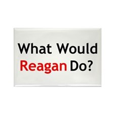 What Would Reagan Do? Rectangle Magnet