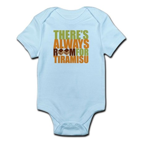 Always Room for Tiramisu Infant Bodysuit