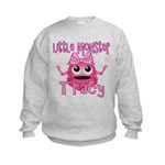 Little Monster Tracy Kids Sweatshirt