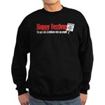 Festivus Yes! Bagels No! Sweatshirt (dark)