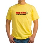Festivus Yes! Bagels No! Yellow T-Shirt